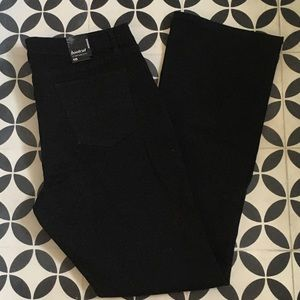 Women's NY&Co black bootcut jeans sz 18 city slim